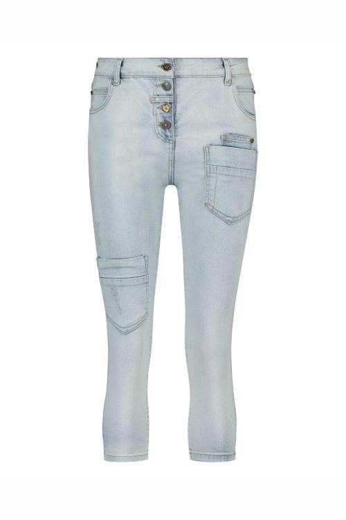 Baggy Capri Jeans - Blue