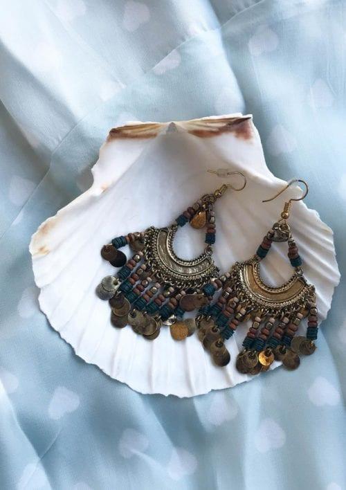 Boho Earrings - Black