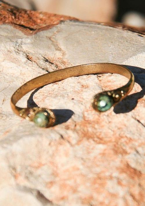 Bracelet with Stones - Turquoise