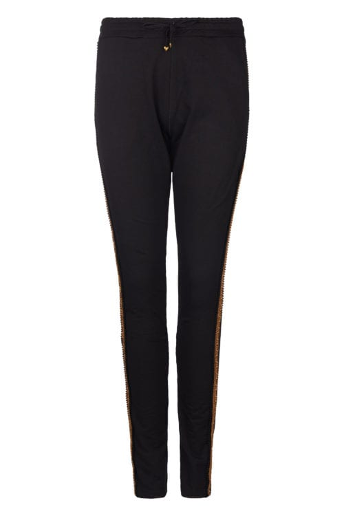 Relaxed Fit Pants - Black