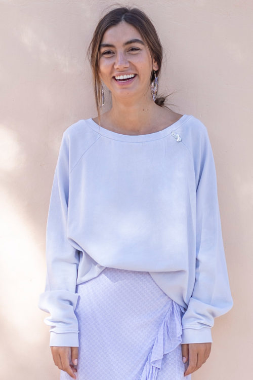 Soft Oversized Sweater Lila - Purple