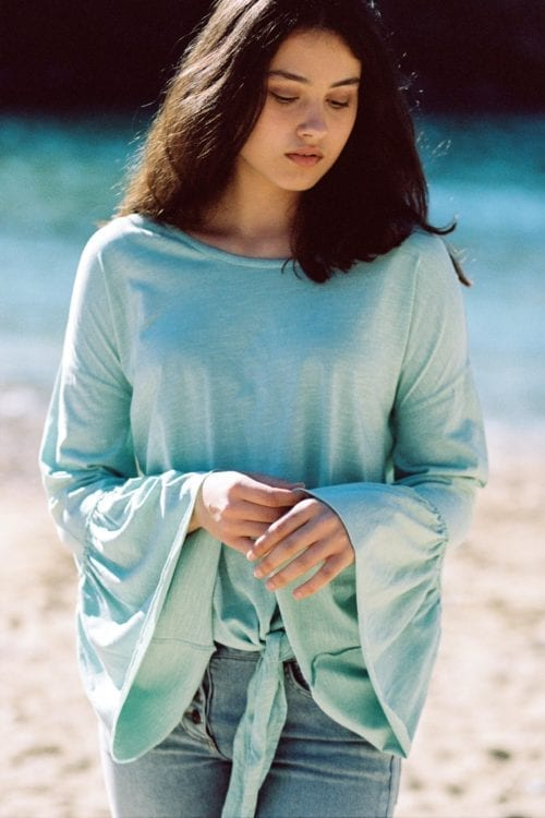 Long Sleeve T-Shirt Chica - Green
