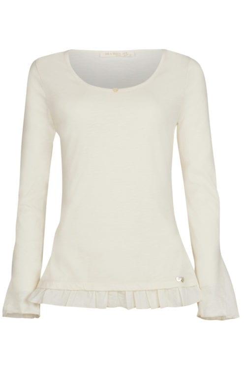 Long Sleeve T-Shirt Gracio - Cream